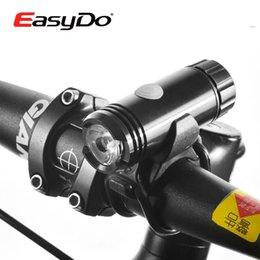 2015 EASYDO Cycling Mini Portable Front Light Bicycle 3W LED Lamp Light &3.7V 600mAh USB Rechargeable Battery MTB Bike Light