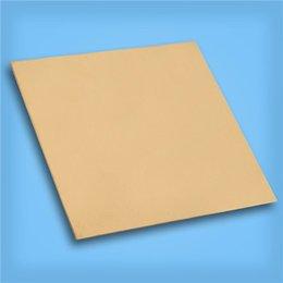 Pvc de láminas mm en Línea-De alta calidad de la marca Nueva 1pcs Brass Sheet Metal Plate 1 mm x 100 mm x 100 mm para track $ 18Nadie