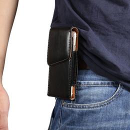Clips de bolsas en Línea-clip de la correa Soporte universal del cerrojo del cuero de la manga bolso de la bolsa para el iPhone 6 7 Plus 6S SE 5 5S 4G Samsung Galaxy S7 S6 Edge S3 S5 Nota 5 3 4