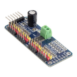 Wholesale High Quality PCA9685 Channel bit PWM Servo motor Driver I2C Module For Arduino Robot Hot