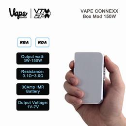 VTM 150W Boîte MOD Dual 18650 Batterie Réglage Puissance 7W-150W Hana BOX 150W MOD Cloupor ADN 30 T5 T6 T8 MOD à partir de double t5 fournisseurs