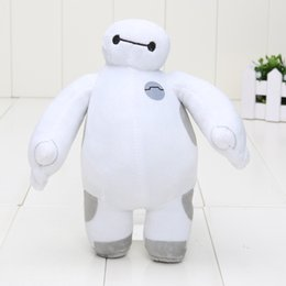 Wholesale 18cm hands can t move Baymax Big Hero Stuffed Animals Plush Toy