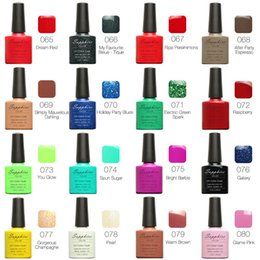 Wholesale The whole network unified price Sapphire Painted Nail Polish Soak off Gel Nail LED UV Top coat and base coat