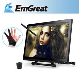 Descuento ips tableta al por mayor Al por mayor-UGEE UG-2150 Dibujo Gráfico Digital UG2150 Tablet Pen recargable 21.5