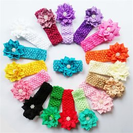 Kids Hair Accessories Cute Colors Baby Girl Headband with Flowe Decorate High Quality Hair Accessories for Short Hair CB001