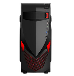 [With handle USB3.0] Wolf Red God of War series gaming computer chassis