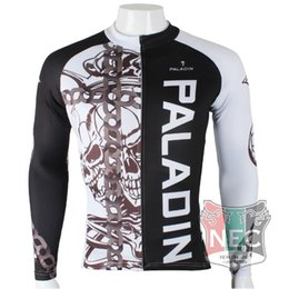Men's Fleece Thermal Jersey Chain skeleton Long Sleeve Cycling Jersey Cycling clothing Wind break maillot Winter softshell ciclo Bike outfit