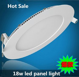 18W LED downlight focos 225mm 90 led ceiling panel lamp super thin 2835smd home kitchen 85V-265V CE&ROHS by DHL 20pcs lot