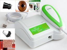 New 2 in 1 Iris&Skin Diagnosis System Iridology Camera & Skin Analyzer -Software