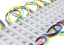New Arrivel Super Bright Led modules 5leds SMD5050 rgb module Epistar chip IP65 waterprrof led advertising module