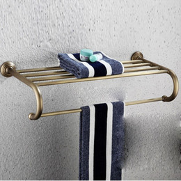 All Copper Bathroom Towel Rack double bar Towel Rack bathroom Towel Bar Towel hanging bathroom hardware accessories