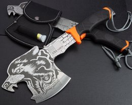 Wholesale Saber FD38 eagle axe Tomahawk Karambit Axe Machete axe stainless Steel Outdoor Survival Axe Hunting Camping Axe Hand Tool EDC Hatchet