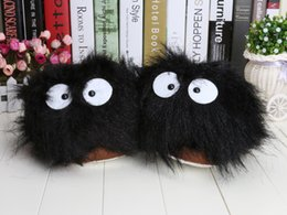 Wholesale 11 new Neighbour Totoro slippers Cosplay Plush Doll dusty bunny slippers red heroes Adult Plus