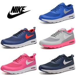 Discount Shoes Run Air Max Nike Air Max Thea Print Running Shoes Men Women High Quality Discount Trainers Authentic Jogging Boots Max 87 90 Size US 5.5-11