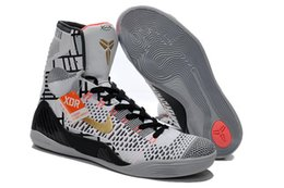 Wholesale Nike Kobe Elite Men Basketball Shoes Mens High Cut Basketball Shoes Nike Fashion Authentic Nike Sport Sneakers