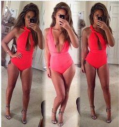 Summer Style Swimwear Women Bathing Suits 3 Wearing Ways Red Black Swimming Suit For Women Swimsuit One Piece Swim Suits