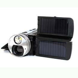 Wholesale Solar Power HD Camcorder quot LTPS Display MP x Digital Zoom CMOS HDMI TV output video camera