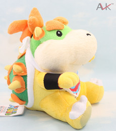 Wholesale quot New Super Mario Brothers Bowser JR Plush Doll And Retail