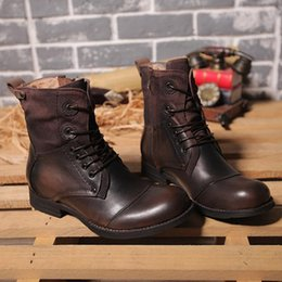 Wholesale New England Style Dr genuine leather Martin Boots Martin Shoes Men Women Brand Dr Designer Motorcycle Boots Size