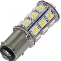 Wholesale 10PCS SMD T25 S25 White SMD LED Car Stop Tail Brake Light Bulb Car RV Trailer LED