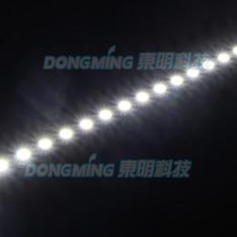 Promotion placards blancs Gros LED rigide bande 0.5m 36leds 12V conduit barre lumineuse 8520 SMD blanc / blanc chaud sous coffret led strip cuisine bijoux placard vitrine