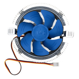 Wholesale Hydraulic Bearing Silent mm Cooling Fan CPU Cooler Radiator for Intel LGA X AMD AM2 Computer PC Peripheral DHL C2502