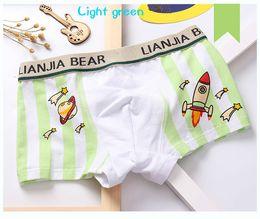 Free freight Article 4 the pack boy pure cotton rocket comfort boxer underwear children's underwear boxers