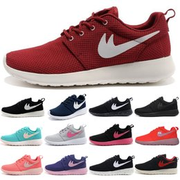 Wholesale 2015 Free shiping hot sale high quality factory store roshe run sports shoes for London Olympic Women running shoes colors