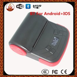 Wholesale mm mobile printer Portable Printer Mobile thermal printer USB Bluetooth interface support android and ios