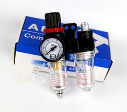 Wholesale Pneumatic Filter Regulator Air Pressure Regulator Water Oil Separator Airbrush Compressor Trap Filter Gauge