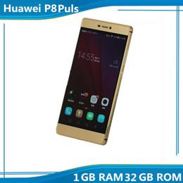 Wholesale Original unlocked cellphone Huawei P8 Plus Phone Inch Smartphone P HD MTK6582 GB ROM Android MP Camera wifi GPS