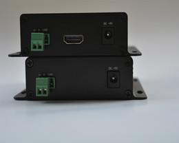 Wholesale HD SDI to I HDMI Optical Transceiver Fiber to SDI Media converter Video Audio RS485 data over fiber