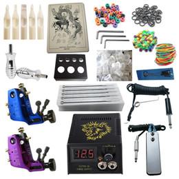 Tattoo Kit 2 Stigma Hyper V3 Rotary Machine Guns Power Supply Needles Grips Tips Tattoo Kits RK2-6