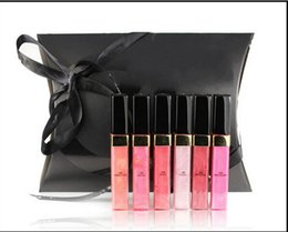 Wholesale New makeup Brand Lipgloss different color Lipgloss set make up sample size lip gloss box
