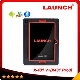 Wholesale 2015 New designed Launch X431 V Wifi Bluetooth Global Version orignal X V X431 pro3 Multi language Full System Scanner