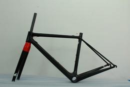 Wholesale lightest R5 RCA full carbon fiber bike bicycle frame UD t800 frame cm BBRIGHT front fork glossy matte finishing