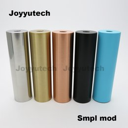 Wholesale High Quality Mechanical Mods Stainless Steel Best Vape Mods Atomizer Connection Mechanical Mods Clone for Sale SMPL