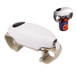 Wholesale New One Touch Automatic Can Jar Opener Tin Open Tool Cordless Battery Operated YB001