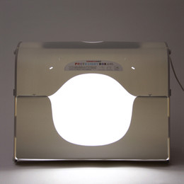 DHL shipping SANOTO softbox photo studio photography light box portable mini photo box MK60-LED for 220 110V EU US UK AU