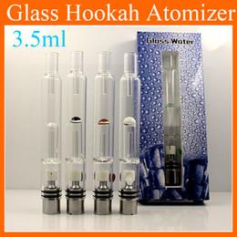 Glass Water Atomizer Hookah Cigarette Water Vaporizer Pipe Tank Glass Water Bongs Pipe for ego vv3 evod vv battery Victoriasmoke.LTD ATB031