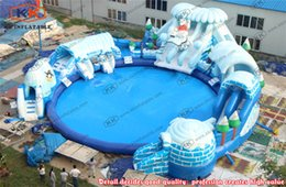 Wholesale Portable ice world inflatable water park inflatable water park equipment water park supplier