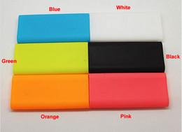 Wholesale xiaomi Powerbank Power Bank Case Silicon Case for Xiao MI MIUI mAh PowerBank Soft Colorful Protector colors