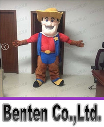 Wholesale 2015 Hot Mascot costumes for adult carnival cartoon costumes animals Cowboys LLFA1980F