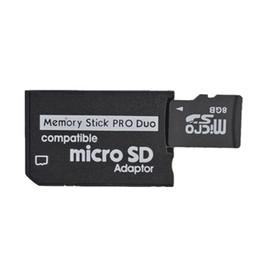 Micro SD à MS Pro Duo adaptateur Memory Stick lecteur de carte 200pcs en gros Livraison gratuite à partir de adaptateurs duo memory stick fabricateur