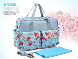 Wholesale Fashion MultiColored Tote Nappy Bags Cross body Multifunctional Mummy Bags Maternity Shoulder Diaper Bags Dollar Price Baby Bag