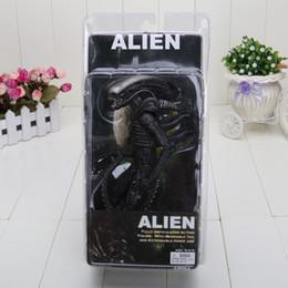 Descuento películas de acción 7#039;#039; Nueva NECA Oficial De 1979, de Película Clásico Original de Alien Figura de Acción de Juguete Muñeca de Regalos de Navidad