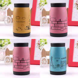 2015 New Popular Stainless steel vacuum cup belly cup portable thermos cup Water Bottle Office Vacuum 250ml Top Quality