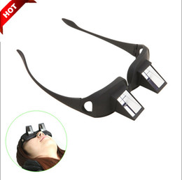 Wholesale Fashion Reading Glasses For Men And Women Lazy Creative Periscope Horizontal Video Glasses TV Sit View Glasses On Bed Lie Down