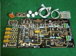 Wholesale USA America CAT SL tube Pre AMP DIY kit PCB transistor resistance for HIFI