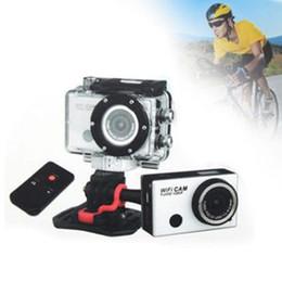 2017 caméra de voiture de vélo Vacances Vente Sport Étanche Caméra d'Action Full HD 1080P Vélo-photo de Voiture CAM WiFi Caméscope DV WDV5000 5.0 MP caméra de voiture de vélo promotion
